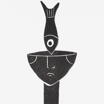 Third Eye - Žužu Gálová / risografika