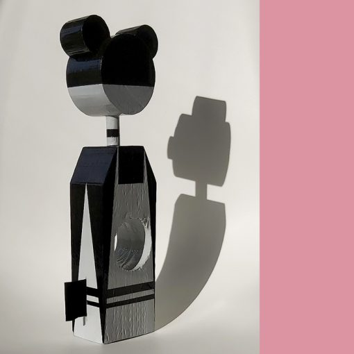Masha - drevená bábika / soška