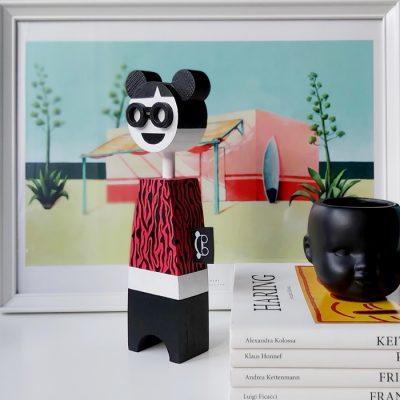 Sisi - drevená bábika / soška