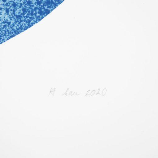 Letné čítanie - Han, 32x32 / giclée grafika