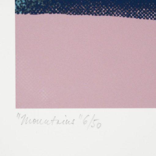 Mountains - Han, 32x32 / giclée grafika