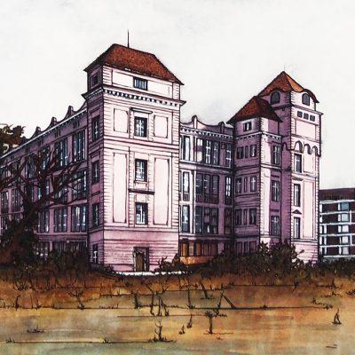 Lena Kollar - Danubius Cvernovka, A4 / giclée grafika