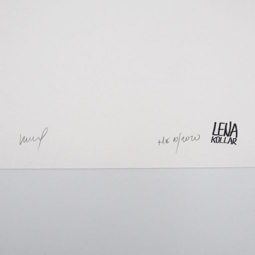 Lena Kollar - Stein Spilka, A4 / giclée grafika