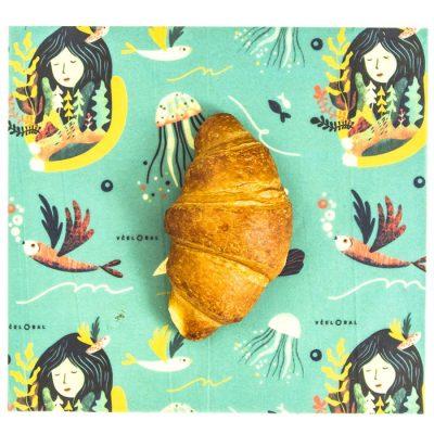 Včelobal 4 Živly M, 25 x 27 cm / obal na potraviny