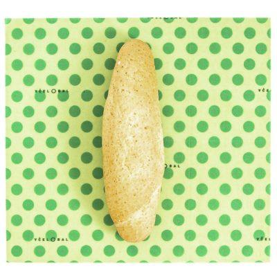 Včelobal Bodky M, 25 x 27 cm / obal na potraviny