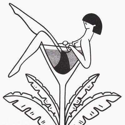 La Dolce Vita - Žužu Gálová, A4 / risografika