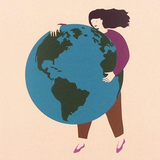 Global strike for climate - Alexandra Just / grafika