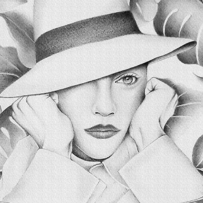 Coffee dreamer BW - Katarína Branišová, A4 / grafika
