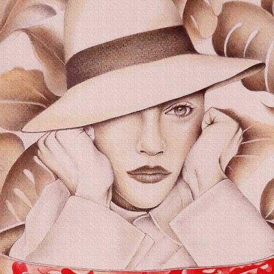Coffee dreamer colour - Katarína Branišová, A4 / grafika