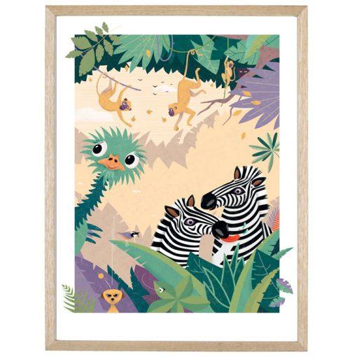 Afrika - Katarína Hutníková / giclée grafika