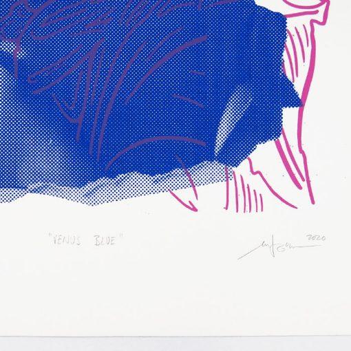 Venus Blue - Martina Rötlingová / sieťotlačová grafika