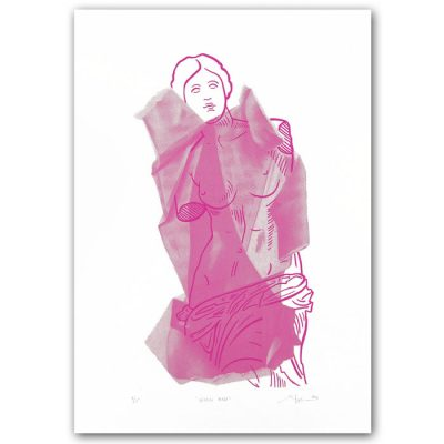 Venus Rose - Martina Rötlingová / sieťotlačová grafika
