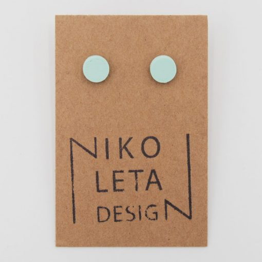 Bodky mentol - Nikoleta Design / náušnice
