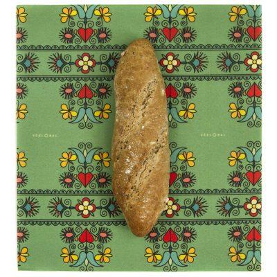 Včelobal Folklór L, 34 x 37 cm / obal na potraviny