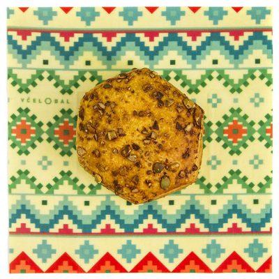 Včelobal Folklór S, 19 x 19 cm / obal na potraviny