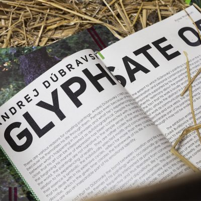 Glyphosphate Orgy – Andej Dúbravský / katalóg