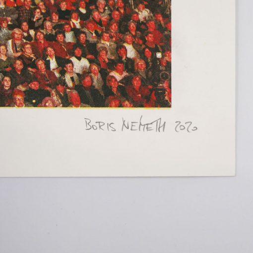 Oslavy MDŽ 2015 - Boris Németh / risografika