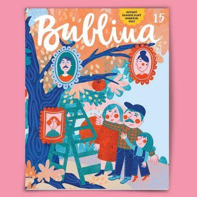 Bublina 15 časopis pre deti