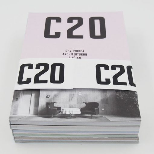 C20: Vreckový sprievodca architektúrou / balík 6ks kníh