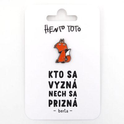 Berta - Hento Toto / brošňa