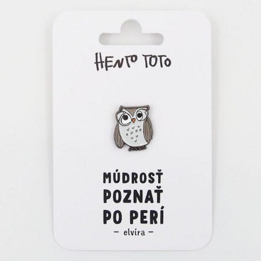 Elvíra - Hento Toto / brošňa