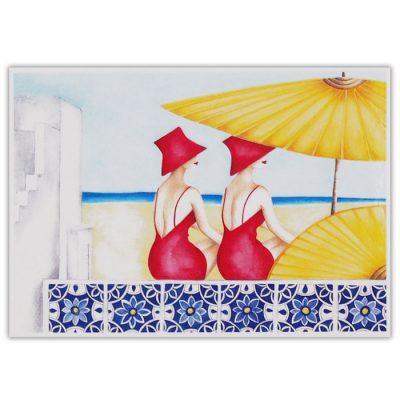 Summer time - Katarína Branišová / pohľadnica