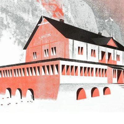 Ľuboš Kostík – Chata Kamzík / risografika