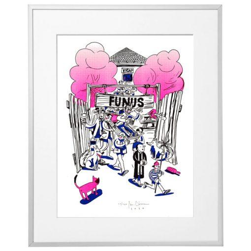 Funus - Marek Cina / risografika