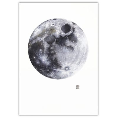 Lena Kollar - Mesiac, A4 / giclée grafika