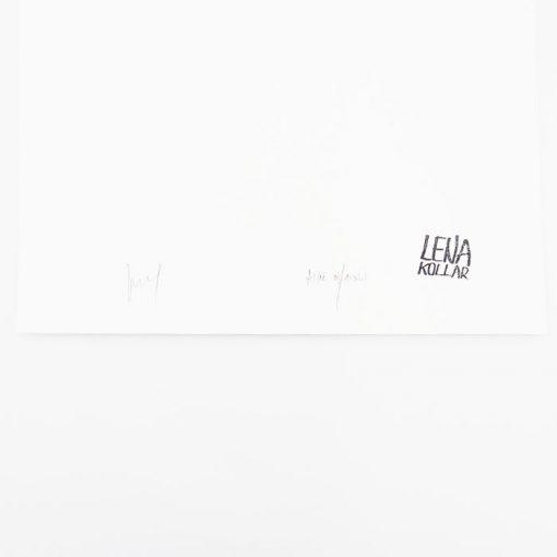 Lena Kollar - NUPOD Trnava, A4 / giclée grafika