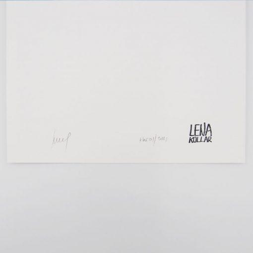 Lena Kollar - Vodojem Trnava, A4 / giclée grafika