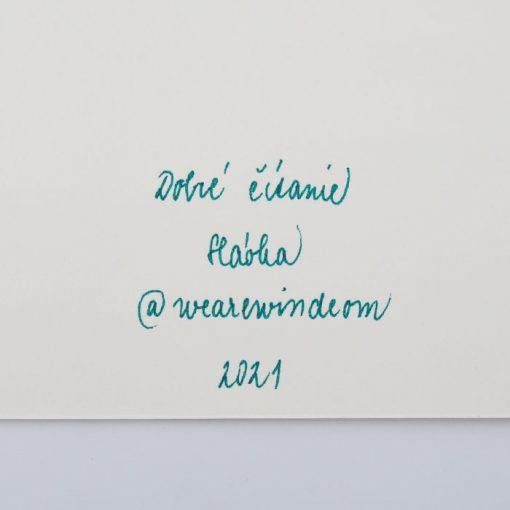 Dobré čítanie - We are wind / grafika