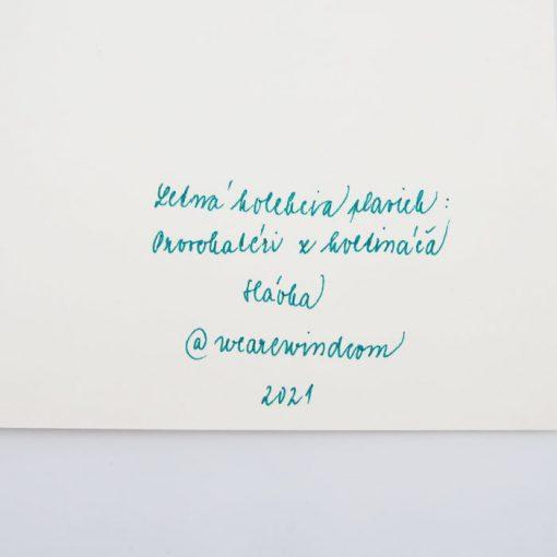 Provokatéri z kvetináča - We are wind / grafika