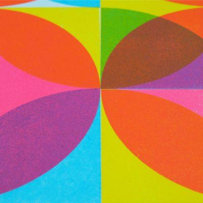 Quarter Circles II. - David Mascha, 32x30 cm / grafika
