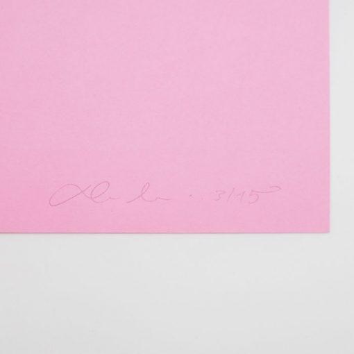 Say Yes Neon - David Mascha, 38x39 cm / grafika