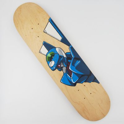 Evangelion: Unit 00 - Na skejt maľované / skateboard
