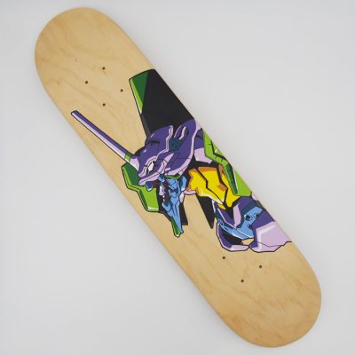 Evangelion: Unit 01 - Na skejt maľované / skateboard