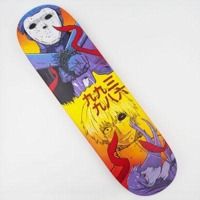 Tokyo Ghoul: Kaneki - Na skejt maľované / skateboard