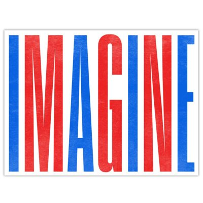 Imagine - Pressink, 30x40 cm / grafika