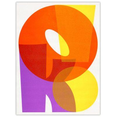 OK! II. - Pressink, 30x40 cm / grafika
