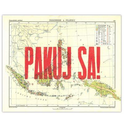 Pakuj sa!, Indonesie a Filipíny - Pressink / letterpressová grafika