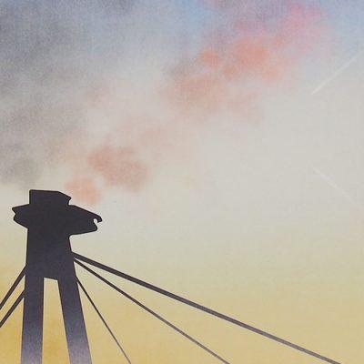 Most SNP - Sára Hammadová / grafika