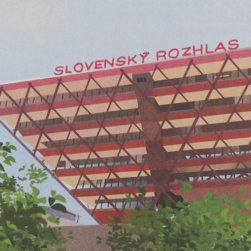 Slovenský rozhlas - Sára Hammadová / grafika