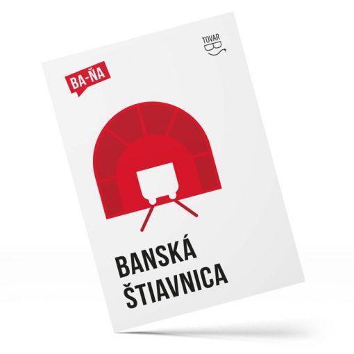 Banská Štiavnica, BA-ŇA - Tovar BŠ / pohľadnica