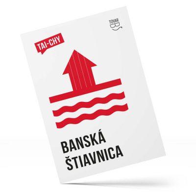Banská Štiavnica, Taichy - Tovar BŠ / pohľadnica
