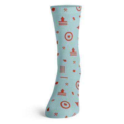 Banícke modré - Tovar BŠ / ponožky