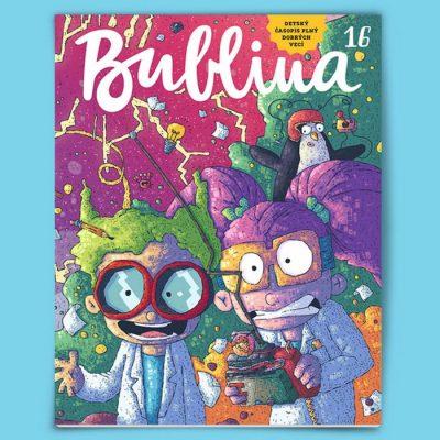 Bublina 16 časopis pre deti