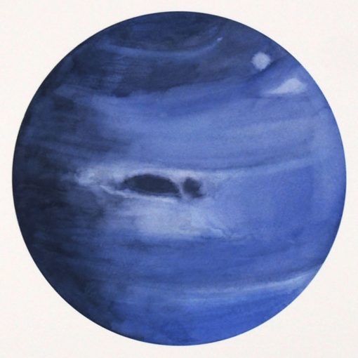 Lena Kollar - Neptún, A4 / giclée grafika