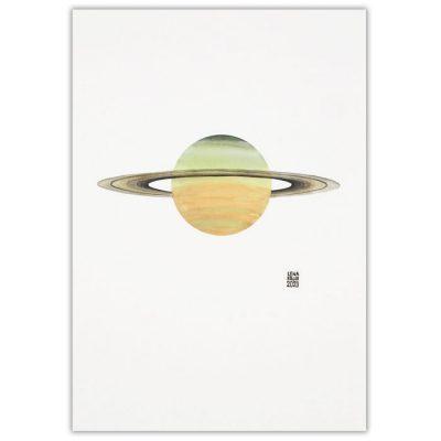 Lena Kollar - Saturn, A4 / giclée grafika