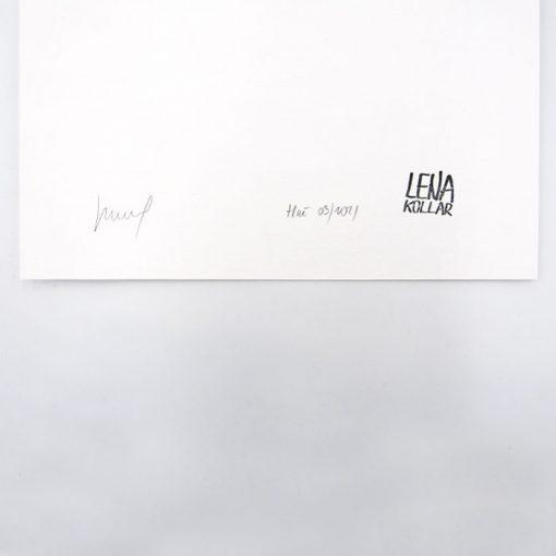 Lena Kollar - Stará tržnica , A4 / giclée grafika